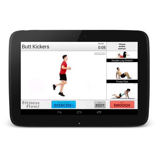 Skimble_fitness_flow_free_android_app_exercise_butt_kickers