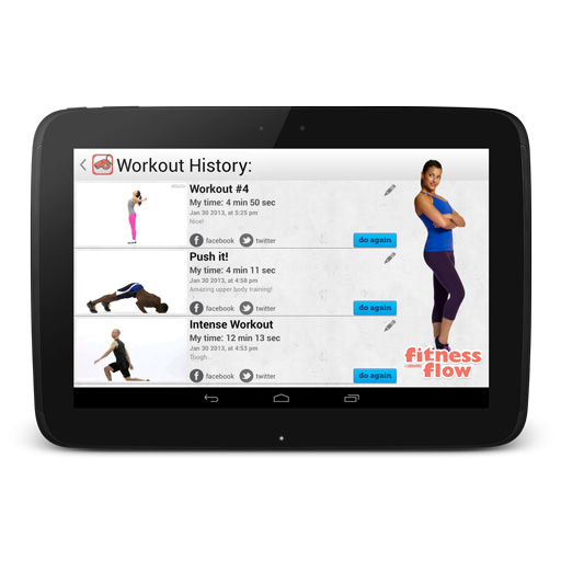 Skimble_fitness_flow_android_app_workout_history